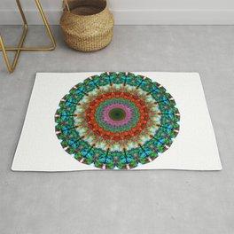Deep Love - Mandala Art By Sharon Cummings Rug