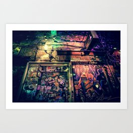 Ruin bar Art Print