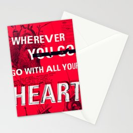 Eye Of The - Heart by Maisie Cross Stationery Cards