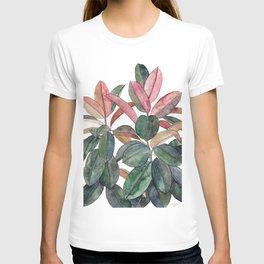 Rubber Plant T-shirt