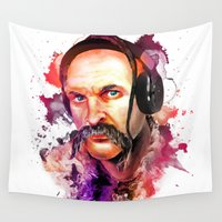 selena Wall Tapestries featuring Cossack Ivan Sirko listen music by Sitchko Igor