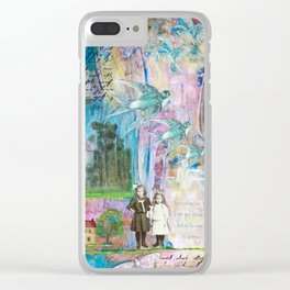 Transcending Time Clear iPhone Case