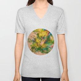 Springtime Color Explosion Unisex V-Neck