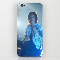 harry styles iPhone & iPod Skins featuring Harry Styles by Halle