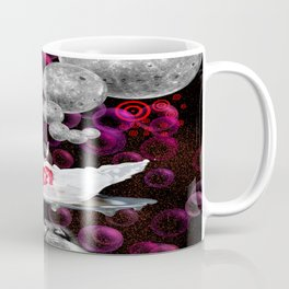 Lapping At Moon Cream Coffee Mug