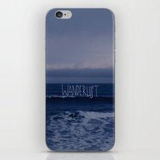 Wanderlust Ocean iPhone Skin