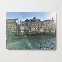 Travelling Down the Grand Canal I Metal Print