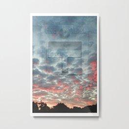 ALARM 02 Metal Print