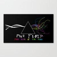 floyd Canvas Prints featuring Pink Floyd by sgrunfo