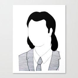 Vincent Vega - Pulp Fiction Canvas Print