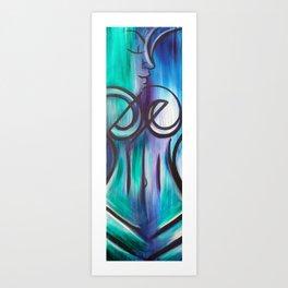 Water Woman 2 Art Print