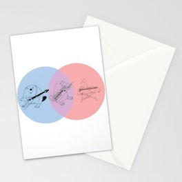 Keytar Platypus BPR Stationery Cards