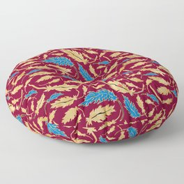 the blue blood of hearts. Floor Pillow