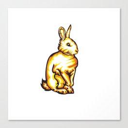 Angry Bunny Canvas Print