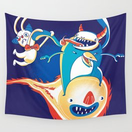 Monsteroid! Wall Tapestry