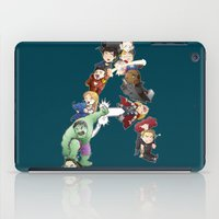 avenger iPad Cases featuring A is for Avenger by Page Branson