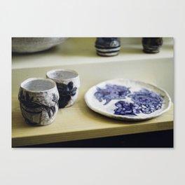 Asheville Pottery Canvas Print