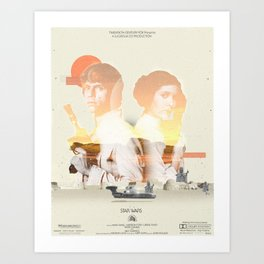 Star Wars - 2 Art Print