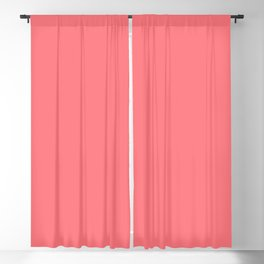 Summer Tropical Coral Blackout Curtain