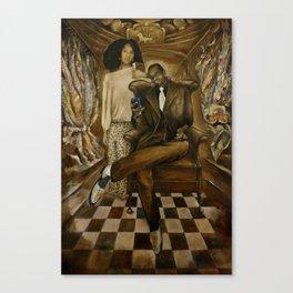 Joseph in Exile Canvas Print