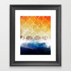 Scales Framed Art Print