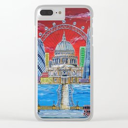 Towers of London Clear iPhone Case