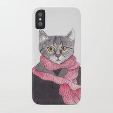 I'm No Cat iPhone X Slim Case
