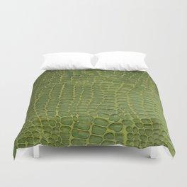 Alligator Skin Duvet Cover