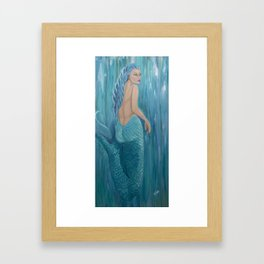 Siren Framed Art Print