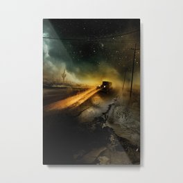 Desolation Road Metal Print