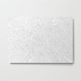 paris city print Metal Print