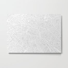 paris city print Metal Print