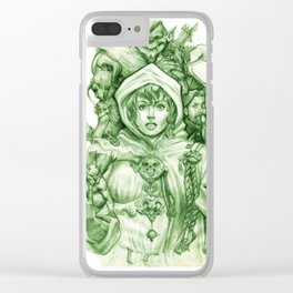 Belladonna Clear iPhone Case
