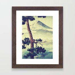 Once Was Wandering Framed Art Print