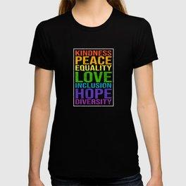 Peace Love Saying T-shirt