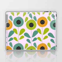 Cheery spring flowers Laptop & iPad Skin