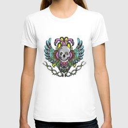 Skull badge T-shirt