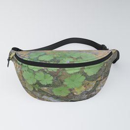 Life on a stone wall Fanny Pack