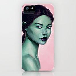 Elf Portrait iPhone Case