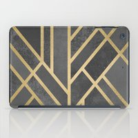 deco iPad Cases featuring Art Deco Geometry 1 by Elisabeth Fredriksson