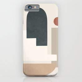 Minimal Shapes No.28 iPhone Case