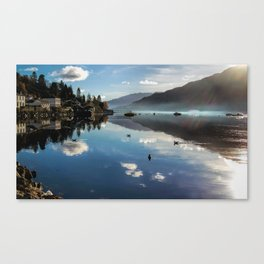 Reflections on Loch Goil Canvas Print