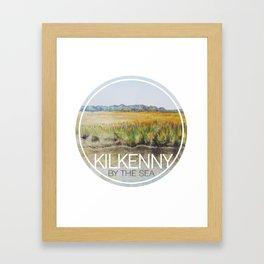 Kilkenny by the sea Framed Art Print