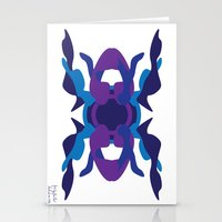 spaceship Stationery Cards featuring Spaceship by David Nuh Omar