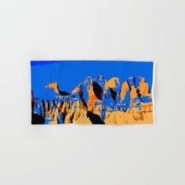 Visit Badlands Retro Postcard Hand & Bath Towel
