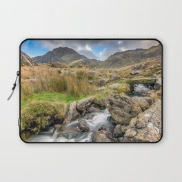 Tryfan Mountain River Laptop Sleeve