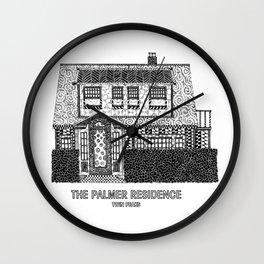 Twin Peaks - The Palmer Residence Wall Clock