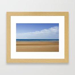 Omaha Beach Framed Art Print