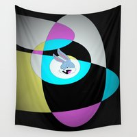 bugs Wall Tapestries featuring Bugs by JadeRose