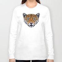 jaguar Long Sleeve T-shirts featuring Jaguar by peachandguava